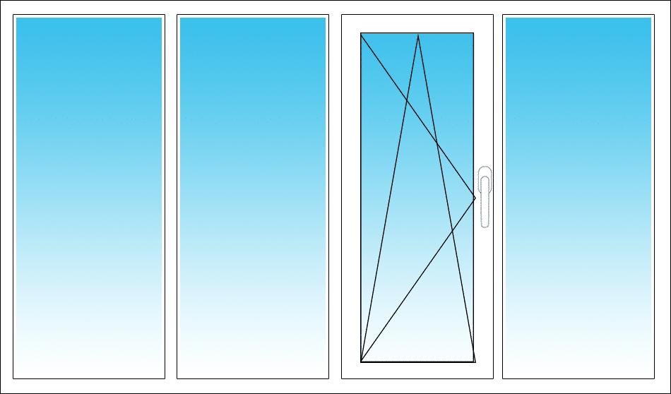 Mitte rechts, DK öffnet nach links