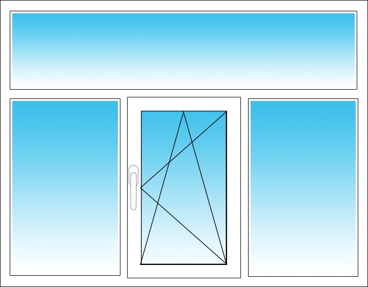 Mitte, Öffnung nach rechts