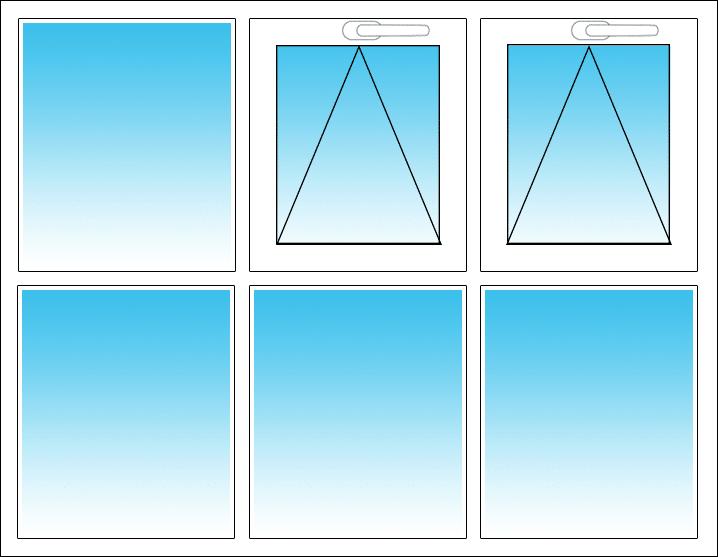Oben Mitte und rechts
