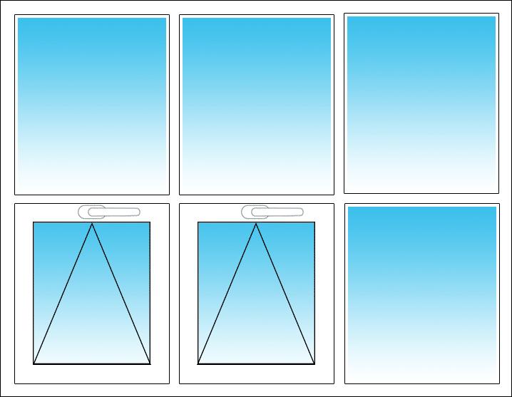 Unten links und Mitte