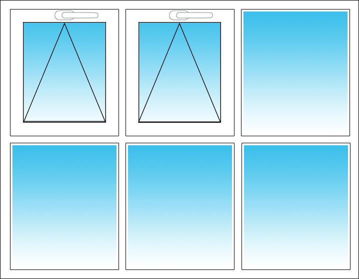 Oben links und Mitte