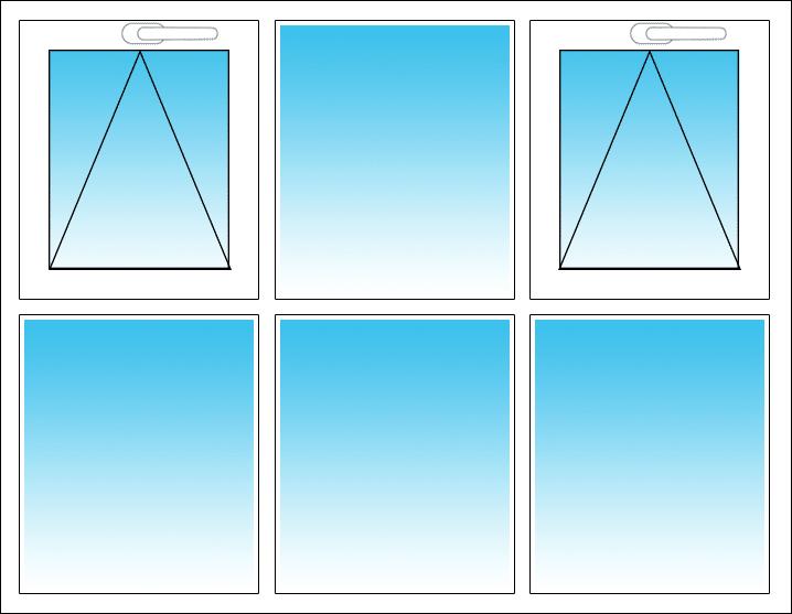 Oben links und rechts