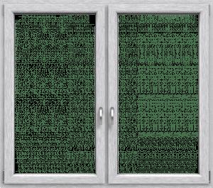 Drutex Fenster Profil Iglo 5 Frontansicht