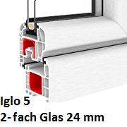 Iglo 5 (2-Fach Verglasung)