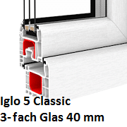 Iglo 5 Classic (3-Fach Verglasung)