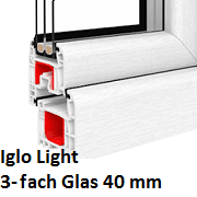 Iglo Light (3-Fach Verglasung)