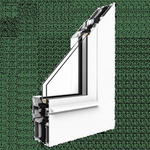 Aluminiumfenster Profil MB-70 HI