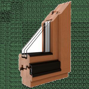 Softline Holzfenster Profil
