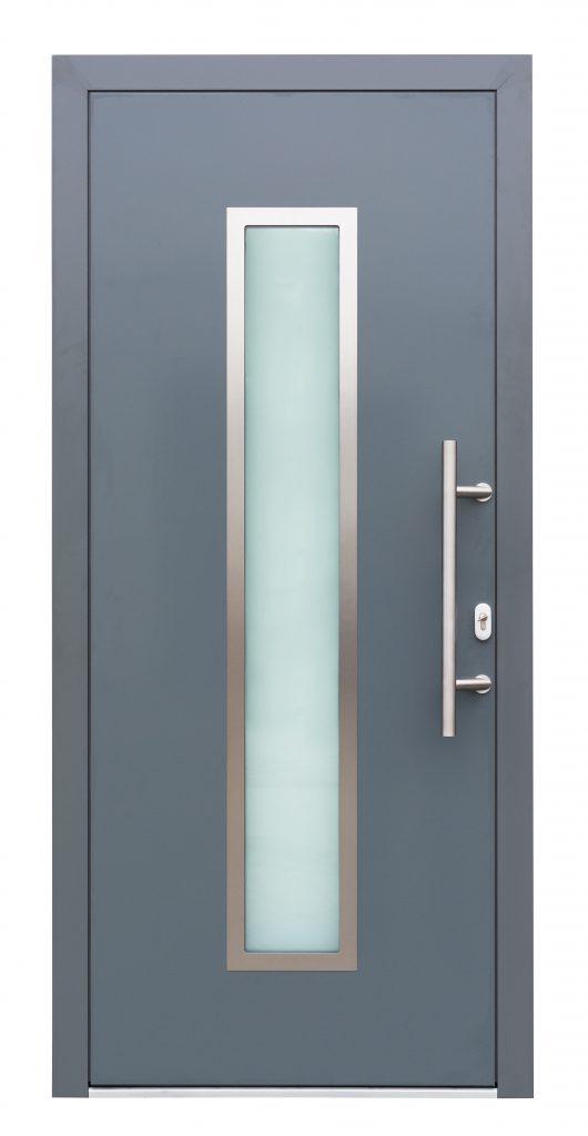 Alutür Beispiel Drutex Aluminium Haustür