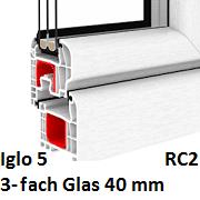 Iglo 5 (3-Fach Verglasung)