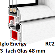 Iglo Energy (3-Fach Verglasung)