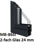 MB-86SI mit 2-fach Verglasung 24 mm
