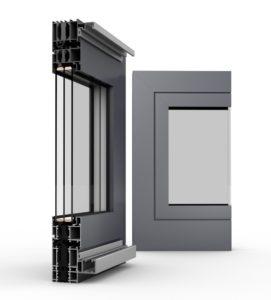 Aluminium Faltschiebetür System MB-70 HI