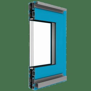 Aluminium Faltschiebetür System MB-70