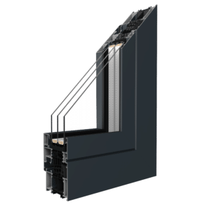 Übersicht Drutex Aluminiumfenster MB