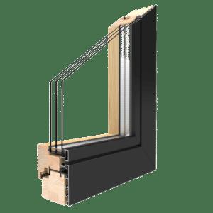 Übersicht Drutex Holz-Aluminium-Fenster Duoline